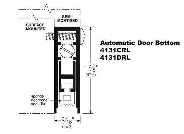 Auto Door Bottom-4131RL