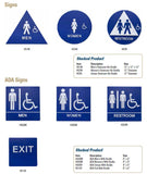 ADA SIGNS - Doors and Specialties Co.