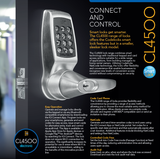 CL4510 Smart Lock - Doors and Specialties Co.