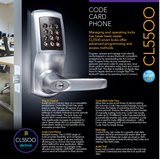 CL5510 Smart Lock - Doors and Specialties Co.