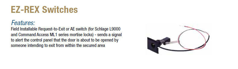 EZ-REX Switches - Doors and Specialties Co.