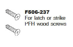 F506-237 Mounting Screws F/Strike or Latch