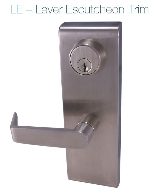 DESIGN HARDWARE LE-08 LEVER TRIM