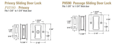 Sliding Door Locks - Doors and Specialties Co.
