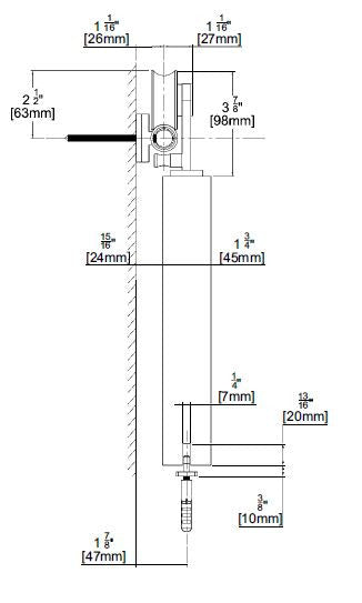 Premium Sliding Barn Door Hardware - Wood Type 1