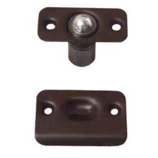 BC218R Series - Ball Catch, Round Corners, Solid Brass - Doors and Specialties Co.