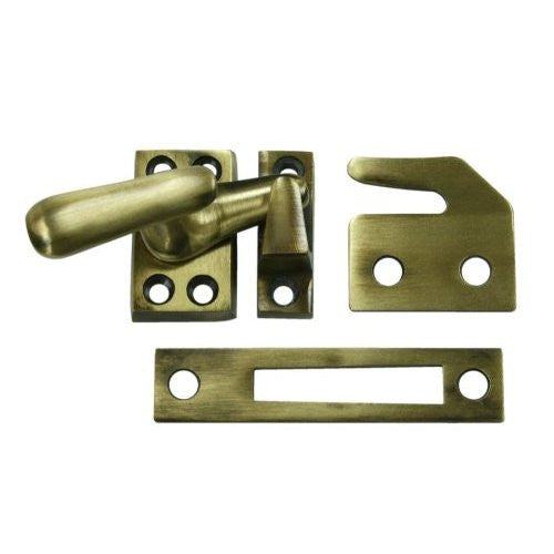 CF066 Series - Window Lock Casement Fastener, Solid Brass, SMALL - Doors and Specialties Co.