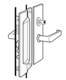 Lock Guard Plates: MLP111 - Doors and Specialties Co.