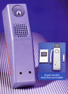 PG Series Door Alarms - Doors and Specialties Co.