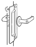 Lock Guard Plates: PLP211 - Doors and Specialties Co.