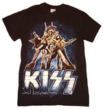 "2013 KISS ""MONSTER"" EUROPEAN TOUR T-SHIRT! (2-Sided) WITH DATES AND CITIES!"