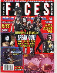 "1996 September ""FACES ROCKS"" MAGAZINE! COMPLETE! MINT!"