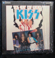 "1984 ""KISS ANIMALIZE LIVE/UNCENSORED"" Laserdisc! (In Shrinkwrap-Opened) MINT!"