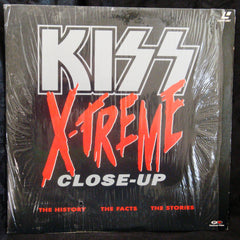 "1992 ""KISS X-TREME CLOSE-UP"" Laserdisc! (In Shrinkwrap-Opened) MINT!"