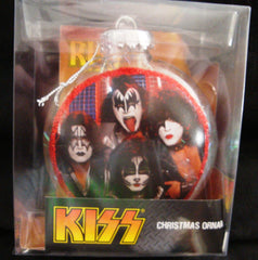"2012 KISS CATALOG, LTD. Official Live Nation Merchandise ""KISS CHRISTMAS ORNAMENT!"" MINT!"