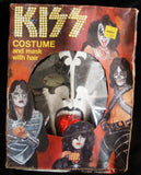 "1978 Collegeville AUCOIN ""GENE SIMMONS COSTUME IN BOX"" COMPLETE! EX+++!"