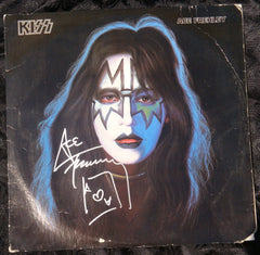 "1978 ACE FREHLEY PERSONALLY AUTOGRAPHED 1978 CASABLANCA RECORDS & FILMWORKS ""ACE FREHLEY SOLO LP""! AWESOME PIECE! VERY FRAMABLE! EX+++!"
