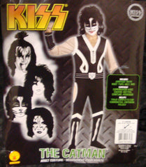 "2011 OOP Rubie's ""PETER CRISS"" Screen Printed Adult 'XL' Costume! COMPLETE! MINT!"