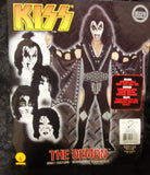 "2011 OOP Rubie's ""GENE SIMMONS"" Screen Printed Adult 'L' Costume! COMPLETE! MINT!"
