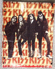 "2010 KISS CATALOG, LTD. Official Live Nation Merchandise (New - Unused) ""KISS GLOSSY CARDBOARD DRESSED TO KILL SCHOOL 3-HOLE BINDER!"" MINT!"