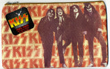 "2010 KISS CATALOG, LTD. Official Live Nation Merchandise (New - Unused) ""KISS FABRIC DRESSED TO KILL ZIPPERED SCHOOL PENCIL POUCH Ver. 1!"" MINT!"