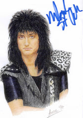 "2001 Original Personally Autographed Artist Portrait ""MARK ST. JOHN"" COLOR PHOTO! MINT!"