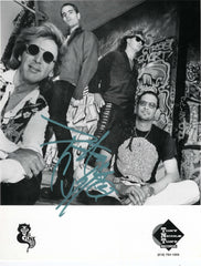 "1994 PETER CRISS PERSONALLY AUTOGRAPHED 1994 ""CRISS BAND B/W PROMOTIONAL-ONLY 8"" x 10""  PHOTO""! AWESOME SHOT! FRAMABLE! MINT!"