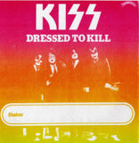 "1975 (UNUSED) ""REPLICA DRESSED TO KILL TOUR SATIN PASS""! MINT!"