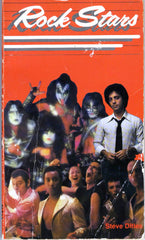"1979 KISS RARE ORIGINAL U.S. SCHOLASTIC BOOK SERVICES 'ROCK STARS"" PAPERBACK BOOK!' `EX+++!"