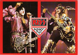 "1985 U.K. Import Original ""KISS Army Gene & Paul"" Postcard! (Unused) MINT!"