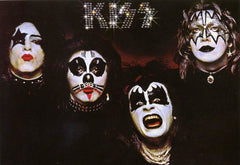 "1985 U.K. Import Original ""KISS 1st S/T Debut LP"" Postcard! (Unused) MINT!"