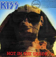 "1989 Very Rare HTF Original Offficial KISS Organization, LTD. ""HOT IN THE SHADE"" Promotional-Only 2-Sided Postcard! MINT!"