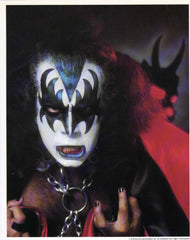 "1978 ULTRA-RARE AUCOIN MANAGEMENT, INC. ""GENE SIMMONS KISS ARMY KIT PHOTO 8"" x 10"" ORIGINAL PHOTO!"" NrMINT!"