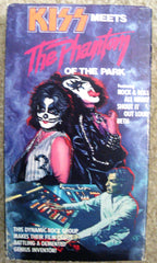 "1986 Original ""KISS MEETS THE PHANTOM OF THE PARK"" VHS! EX+++!"