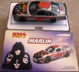 "2001 1/24th Scale Action Motorsports ""STERLING MARLIN # 40 KISS/COORS LIGHT"" Collectable Racing Car! MINT!"