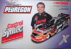 "2001 Action Motorsports ""TONY PEDREGON CASTROL/KISS MUSTANG FUNNY CAR"" Top Fuel Stock Car Collectable! MINT!"