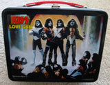 "2000 Original Official KISS Catalog, LTD. ""LOVE GUN"" LUNCHBOX with THERMOS! MINT!"