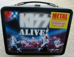 "2000 Original Official KISS Catalog, LTD. ""ALIVE!"" LUNCHBOX with THERMOS! EX!"
