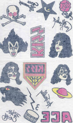 "1997 U.S. Official Original KISS Catalog, LTD. (Unused) ""KISS TATTOOS"" MINT!"