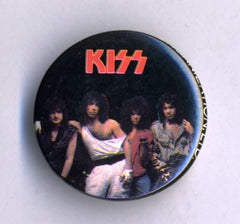 1984 KISS 'ANIMALIZE' OFFICIAL TOUR BUTTON No.13! MINT!