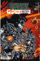 "1999 August GERMAN IMPORT OFFICIAL 1st PRINTING 'KISS PSYCHO CIRCUS"" COMIC No. 6""! WITH POSTER! COMPLETE! MINT!"