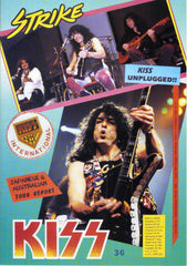 "1995 ITALIAN IMPORT ORIGINAL 'KISS STRIKE No. 36"" FANZINE"" COMPLETE! MINT!"