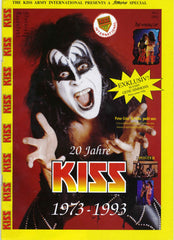 "1993 Austrian Import ""KISS 20th ANNIVERSARY 1973-1993 SPECIAL"" MAGAZINE! MINT!"