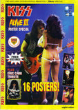 "1993 Austrian Import ""KISS ALIVE III POSTER SPECIAL"" MAGAZINE! MINT!"