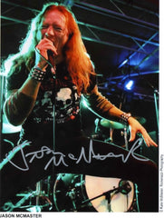 "2012 RARE PERSONALLY AUTOGRAPHED ""SSIK - JASON McMASTER"" 8"" x 10""! MINT #1"