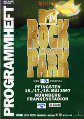 "1997 May ""MTV ROCK IM RING"" TOURBOOK! MINT!"