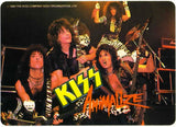 "1984 Original Offficial KISS Company Winterland Productions, Inc. ""ANIMALIZE GROUP LIVE"" Sticker! MINT!"