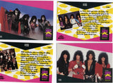 "1991 Winterland Productions Rock Express Set of (2) ""KISS TRADING CARDS No. 196 & 197!"" MINT!"