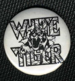 "1986 OFFICIAL ""WHITE TIGER"" BUTTON! MINT!"