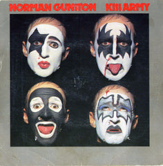 "1980 RARE Australian Import Norman Gunston ""KISS ARMY"" 7"" Picture Sleeve Single! NrMINT!"